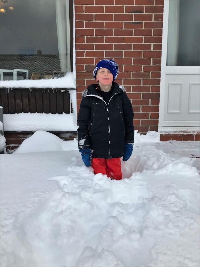 scott in snow