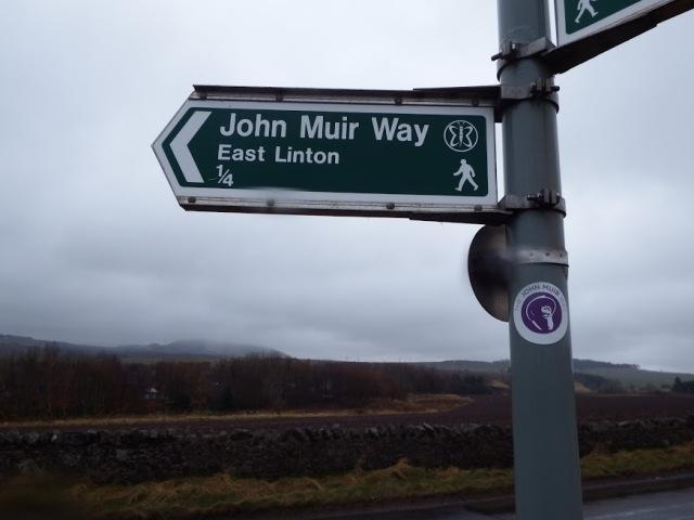 john muir way sign