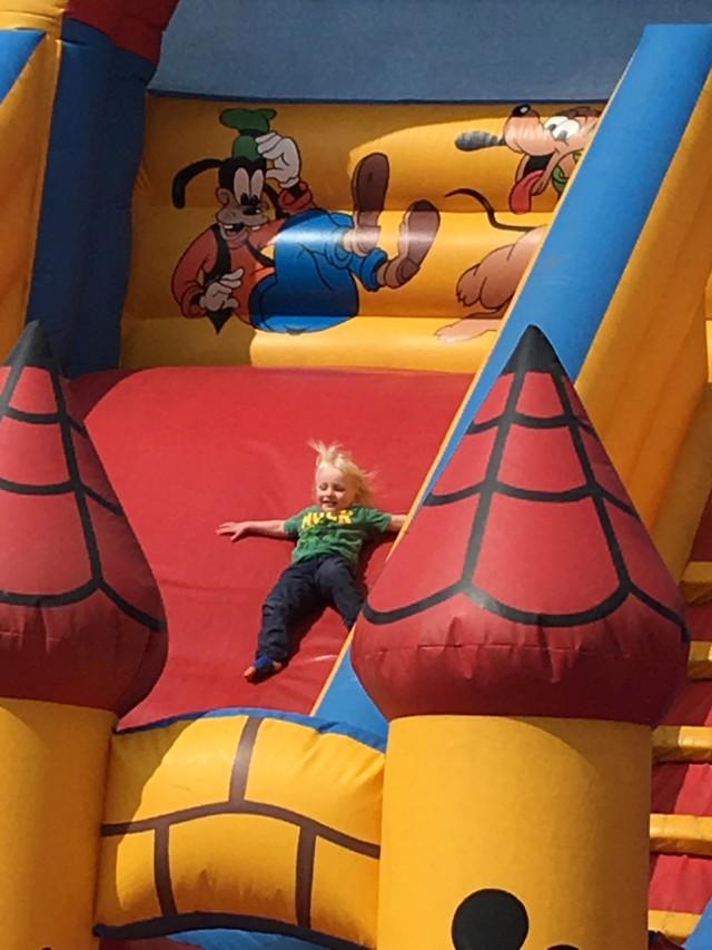 Luke bouncy slide